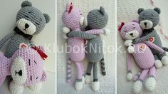 Кот Аминеко амигуруми | Вязание для детей | Вязание спицами и крючком. Схемы вязания.