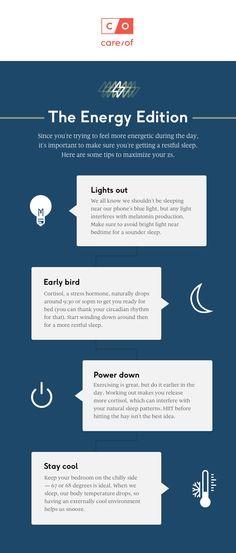 Our top tips to optimize your sleep Vitamins For Energy, The Help, Create Yourself, Sleep, Feelings, Random, Tips, Design