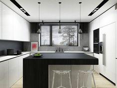 lovable Kitchen Design Ideas You'll desire to Steal. Kitchen Sets, Living Room Kitchen, Kitchen Storage, Kitchen Dining, Kitchen Decor, Kitchen Ceiling Design, Dining Room Design, Best Kitchen Designs, Modern Kitchen Design