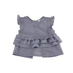 Tocoto Vintage Bluse mit Rüschen