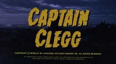 Captain Clegg (Night Creatures) Blu-ray - Peterr Cushing
