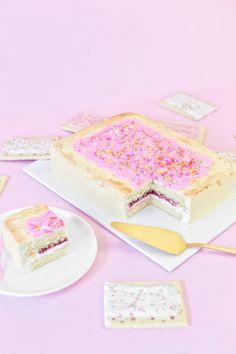 DIY Giant Pop Tart Cake   studiodiy.com