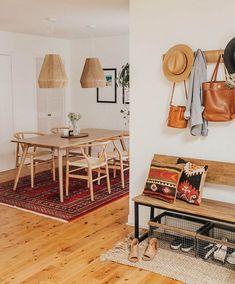 Home Decorating Ideas Modern Modern Bungalow Dining Room Reveal Dining Room Lighting, Dining Room Sets, Dining Room Design, Dining Room Furniture, Room Chairs, Dining Room Bench, Dining Tables, Dining Room Inspiration, Home Decor Inspiration