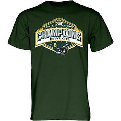 Baylor University Bears Football 2014 Big 12 Champions T-Shirt // #Big12Repeat