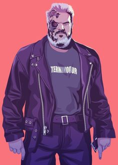 Hodor – GoT characters in the 1980s-1990s, by Mike Wrobel https://society6.com/moshikun/collection/8090s-game-of-thrones