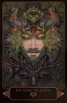 Featured Card of the Day - King of Earth - Dreams of Gaia by Ravynne Phelan