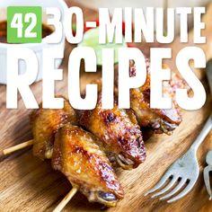 42 Easy 30-Minute Paleo Meals & Snacks