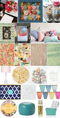 INTERIOR DECORATING - Office CubicleMakeover - Merriment Style Blog - Merriment - A Celebration of Style and Substance