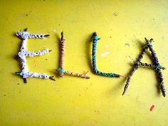 Twigs and pipe cleaners. I am so doing this.