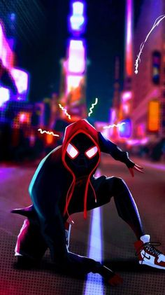 Black Spiderman, Spiderman Art, Amazing Spiderman, Spiderman Spiderman, Hero Marvel, Marvel Art, Marvel Comics, Marvel Comic Universe, Marvel Cinematic Universe