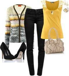 """Sweet Yellow"" by angelysty on Polyvore"
