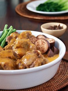 "Kare Kare, or what I like to call ""Peanut Butter Stew"""