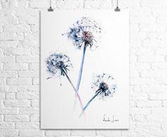 Winter Blue by Julia Christopherson on Etsy