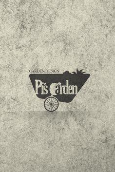 Pi's garden logo design