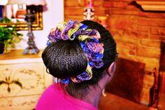 Sashay Hair Wrap #scrunchy