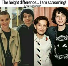 The mileven in season three is going to be beautiful, since Mike can lay his chin on Eleven's head!