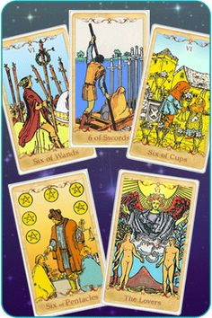 the number six cards