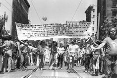 GAY, LESBIAN, BISEXUAL, TRANSGENDER PRIDE PARADES, SAN FRANCISCO, 1977-78