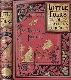 "Olive Thorne Miller 1879 ""Little Folks in Feathers and Fur and Others in Neither"""