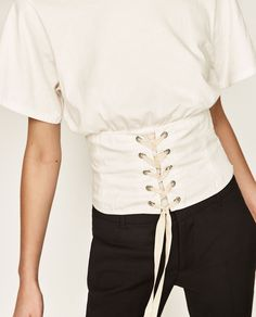 CORSET TOP-View All-T-SHIRTS-WOMAN | ZARA United States
