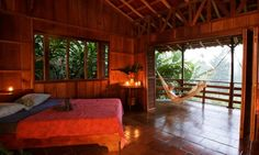 Selva Bananito Lodge & Preserve with waterfall rappelling, horseback riding and more for the adverturer who likes to keep it green!