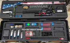 GUNFORMZ Semi Custom Case Inserts for 3 Gun  ARSG V800 V2 ARBL V800 V1 Iwb Holster, Gun Cases, Tactical Knives, Vaulting, Shotgun, Firearms, Innovation, Guns, Weapons