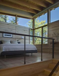 06 eagle harbor cabin open bedroom design