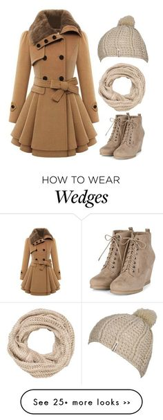 """""""Winter"""" by xo-panda-xo on Polyvore featuring maurices, Billabong, Winter, booties, beanie, snow and scarf"""