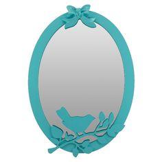 Espelho Decorativo Nature Passarinho - Studio BDA