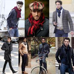 Looks com cachecol para homens