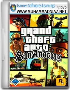 GTA San Andreas Cover Free Download