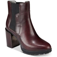 Jambu Anita Water-Resistant Booties ($159) ❤ liked on Polyvore featuring shoes, boots, ankle booties, plum, beatle boots, jambu boots, lug sole booties, lug sole platform boots and platform booties