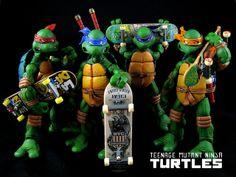 TMNT Skateboarding Team |