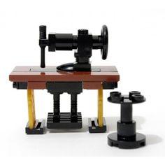 LEGO MOC - Sewing Machine