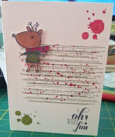 Sam Johnson, Stampin' Up! Independent Demonstrator  Colour me Christmas, Gorgeous Grunge, Christmas Messages