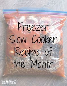 13 Slow Cooker Comfort FoodRecipes! Almost 2 weeks worth of recipes here for you to try.
