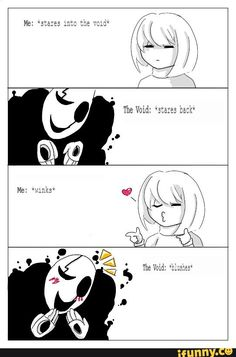 I wouldn't be surprised if Frisk had a flirt option if there was an actual canon Gaster fight. XD