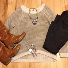 Outfit, fashion, style, old navy, our world boutique, thrifted, Instagram @emily_soto  @Our World Boutique
