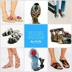 Hey Pretty Fashion Flash: Sandalen, überall Sandalen!