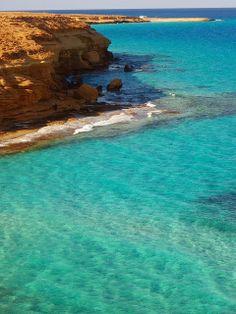 Coast near Marsa Matruh, Egypt