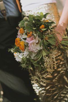 bouquet casual bohemian