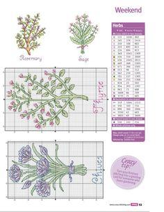Cross Stitch Crazy 189 - Kitchen Garden 4/4