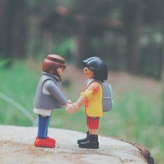 Casual que Playmobil hipster conoce en persona al amor de su vida antes que yo... | #playmobil #hipstertruelove #thinkingofyou