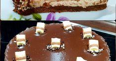 Υλικά 2 πακ. γεμιστά μπισκότα σοκολατας 3 κ.σ. Βιταμ soft 600 γρ. τυρι κρεμα Philadelphia 1 ζαχαρουχο 1 κ.σ. λεμόνι 7 πακ. μπάρες Kinder ... Homemade Sweets, Pudding, Cooking, Desserts, Food, Kitchen, Tailgate Desserts, Deserts, Custard Pudding