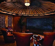 steampunk home theater!