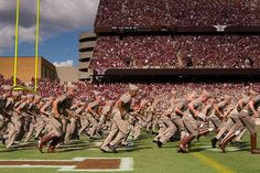 """""""Now forming at the North end of Kyle Field..."""""""
