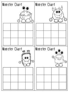 Monster Behavior Incentive Charts