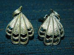Nice Designer Coro ClipOn Vintage EarringsLight by ZiggyzAttic