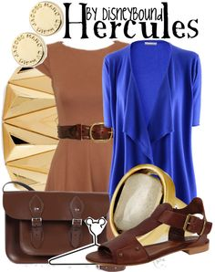 Disney Bound: Hercules from Disney's Hercules Disney Themed Outfits, Disney Bound Outfits, Disney Dresses, Disney Clothes, Disney Inspired Fashion, Disney Fashion, Cute Fashion, Fashion Outfits, Character Inspired Outfits