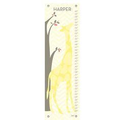 Oopsy Daisy - Modern Giraffe Growth Chart at West Coast Kids